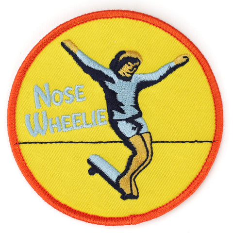 Nose Wheelie patch image