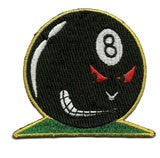 8 Ball Face - Patch Club