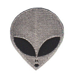 Alien Head Silver - Patch Club