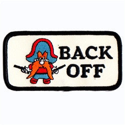 Yosemite Sam Two Gun Back Off patch image