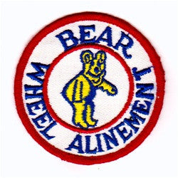 bear wheel alinement patch image