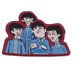 beatles cartoon - Patch Club