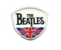 beatles flag patch image