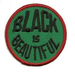 black is beautiful patch image