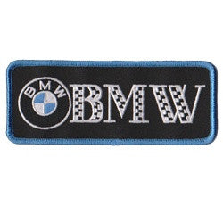 bmw with emblem patch image