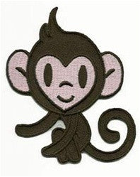 brown monkey patch image