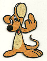 brown mouse finger patch image