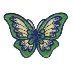 butterfly green patch image