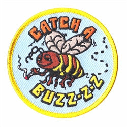 catch a buzz patch image