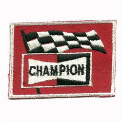 champion flag patch image