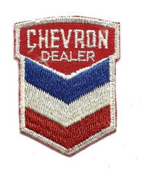 chevron dealer patch image