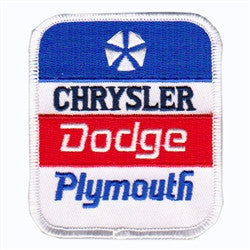 chrysler dodge plymouth patch image