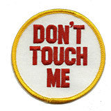 dont-touch-me patch image