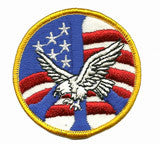 eagle peace patch image