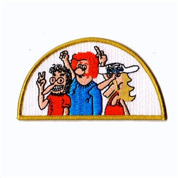freak brothers patch image