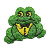 frog bow tie - Patch Club