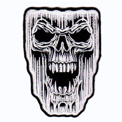 ghost skull - Patch Club