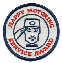 happy motoring patch image