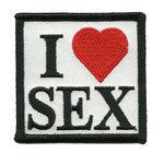 I Love Sex patch image