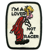 im a lover patch image