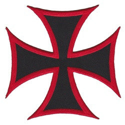 iron cross large - Patch Club