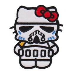 Hello Kitty Stormtrooper patch image