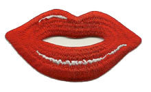 lips patch image