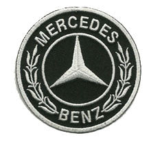 mercedes black patch image