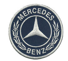 mercedes blue patch image