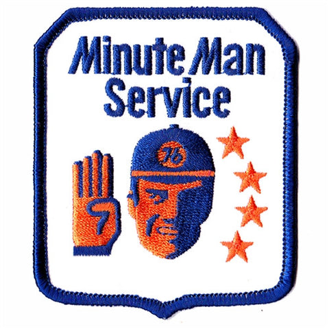 minute man service patch image