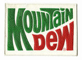 mountain dew back patch