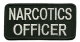 narcotics officer patch image