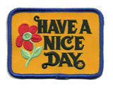 nice day patch image