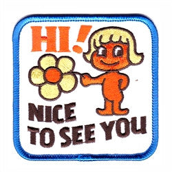 nice to see you - Patch Club