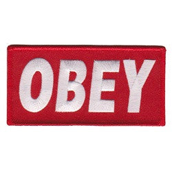 obey red - Patch Club