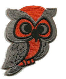 orange-brown-owl - Patch Club