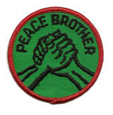 peace brother patch image