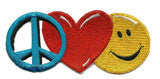 peace love patch image