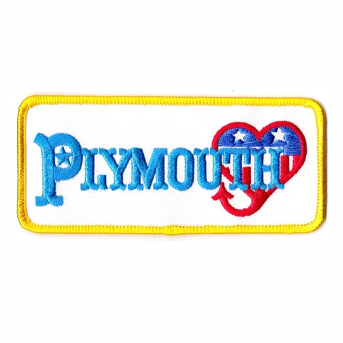 plymouth heart patch image