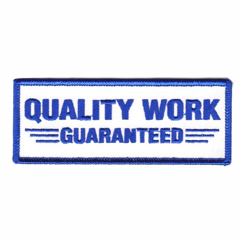 quality work guaranteed - Patch Club