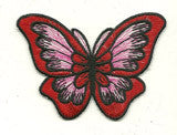 red-butterfly patch image