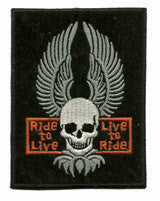 ride-to-live patch image