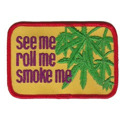 see me roll me patch image