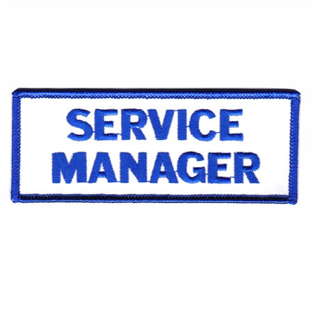 service manager - Patch Club