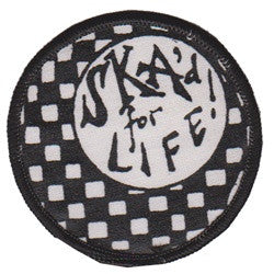 ska'd for life patch image