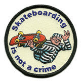skateboarding patch image