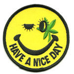 Smiley Pot patch image