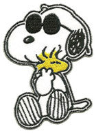 Snoopy Glasses patch image
