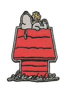 snoopy-on-dog-house patch image