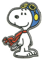 Snoopy Pilot patch image